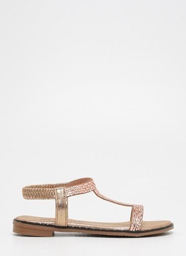 F By Fabrika Kadın Altın Sandalet ANGELA Altın